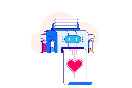 Impresora del amor