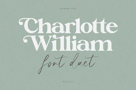 Charlotte William Font Duet