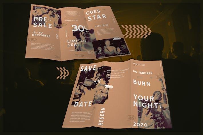 Thumbnail for Boîte de nuit monochromatique - Brochure