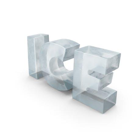 Ледяной символ льда
