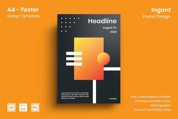 Thumbnail for Ingard Poster Design