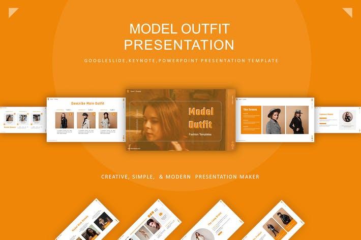 Thumbnail for Шаблон презентации модели