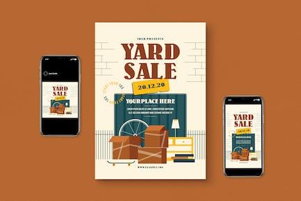 Pack de dépliant de vente Yard