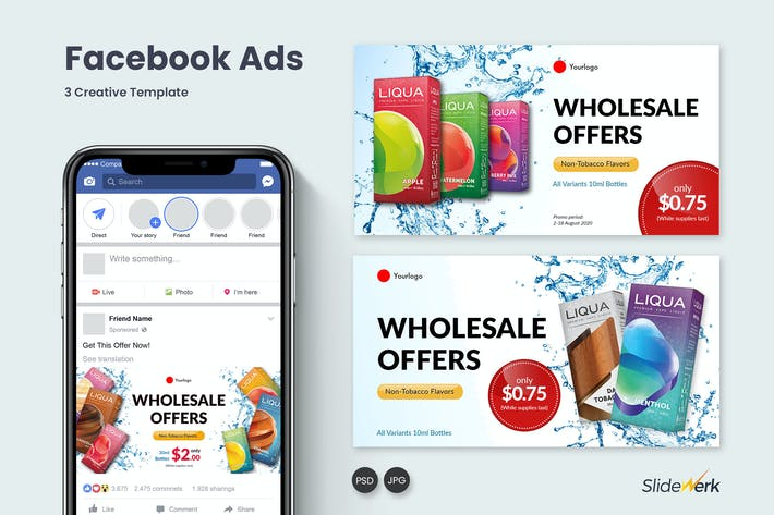 Thumbnail for Facebook Ads 01 - Slidewerk