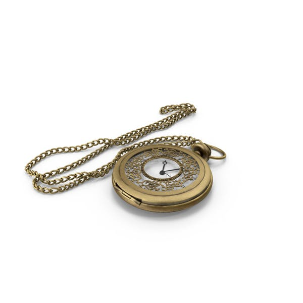 Thumbnail for Pocket Watch and Chain
