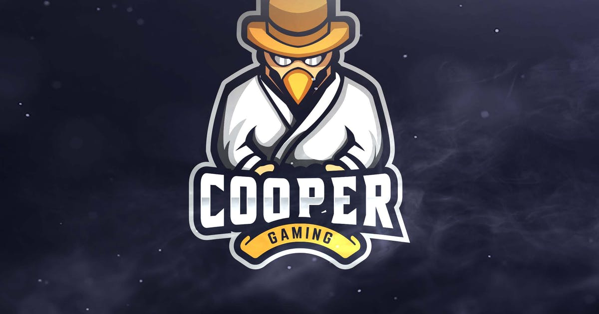 Cooper Gaming Sport and Esports Logos by ovozdigital