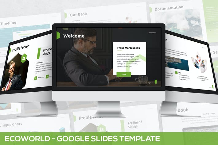 Thumbnail for Ecoworld - Multipurpose Google Slides Template