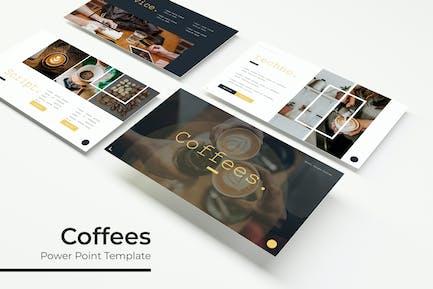 Кофе - Шаблон Keynote