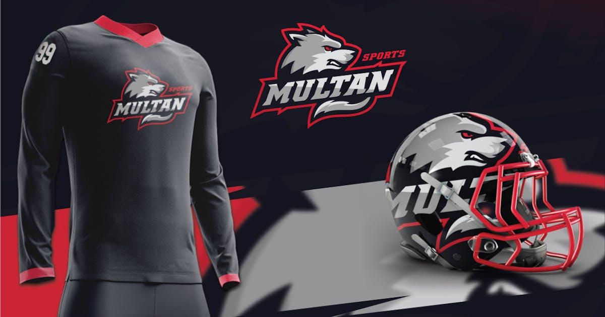 Download Wolf Sports Logo by designhatti
