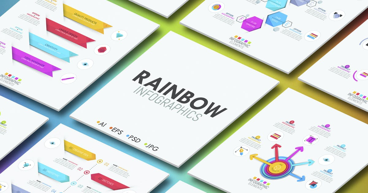 Download Rainbow Infographics by Andrew_Kras