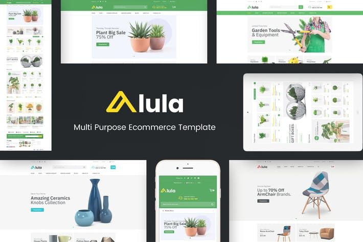 Thumbnail for Alula - Multipurpose OpenCart Theme