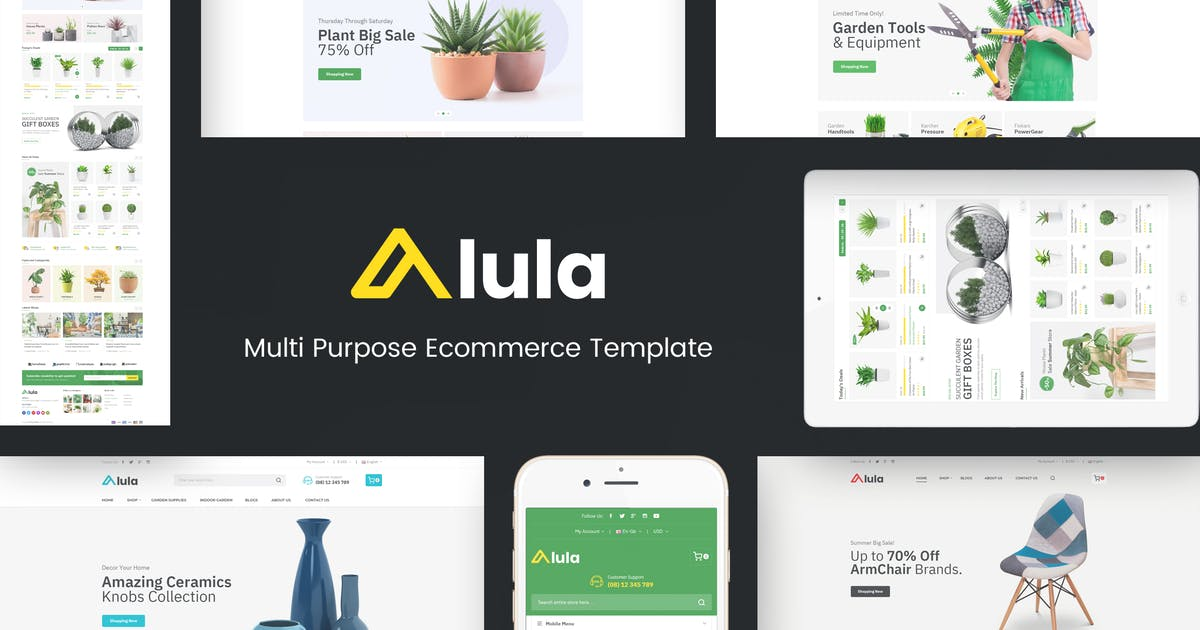 Download Alula - Multipurpose OpenCart Theme by posthemes