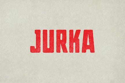 Jurka Typeface