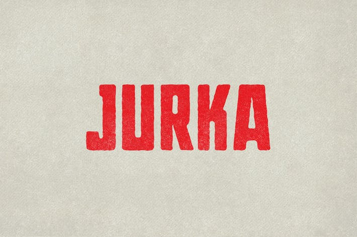 Thumbnail for Jurka Typeface