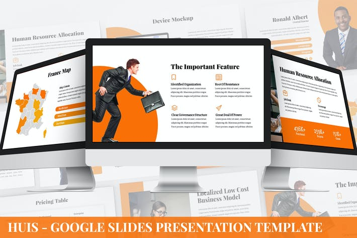 Cover Image For Huis - Google Slides Presentation Template