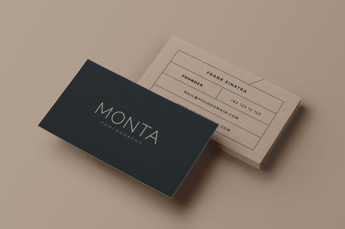 Thumbnail for Monta Creative Business Card
