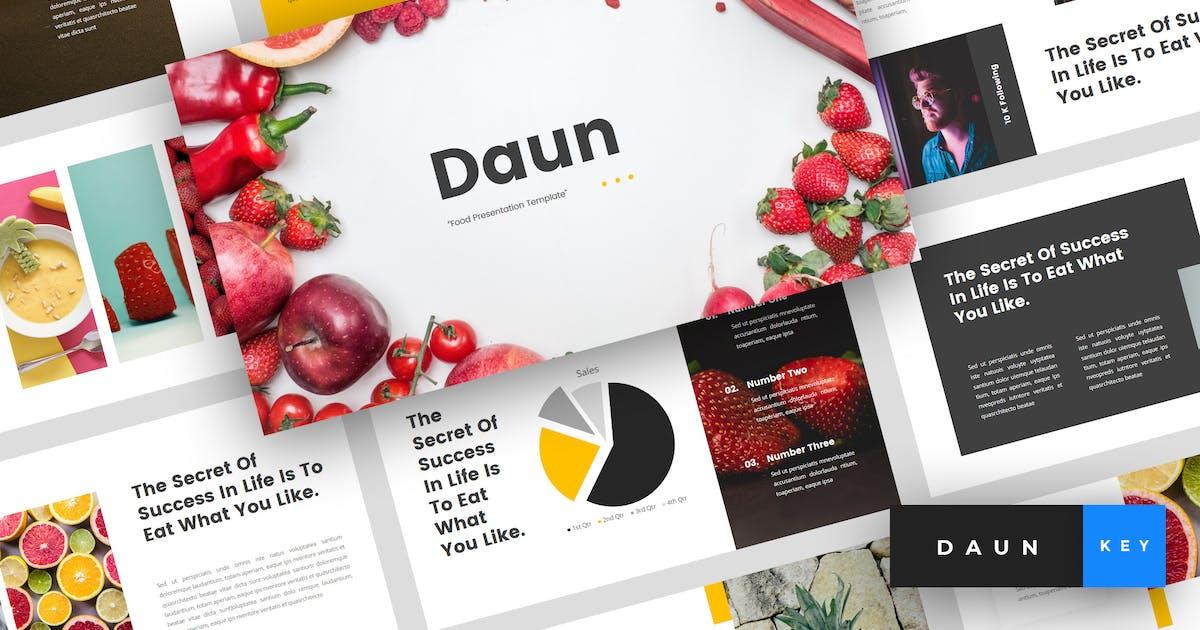 Download Daun - Food Keynote Template by StringLabs