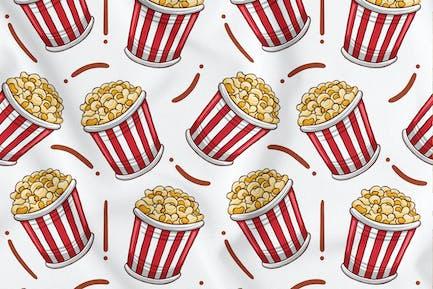 Popcorn Nahtloses Muster
