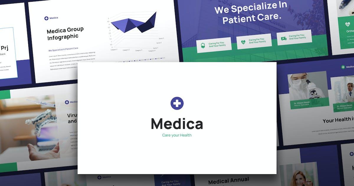 Download Medica - Medical Theme Keynote Template by Slidehack