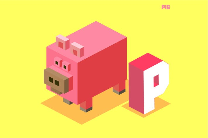 Thumbnail for P für Schwein. Tier-Alphabet