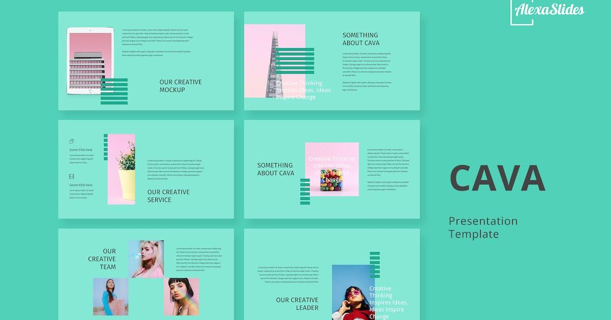 Download Cava - Creative Powerpoint Template by alexacrib