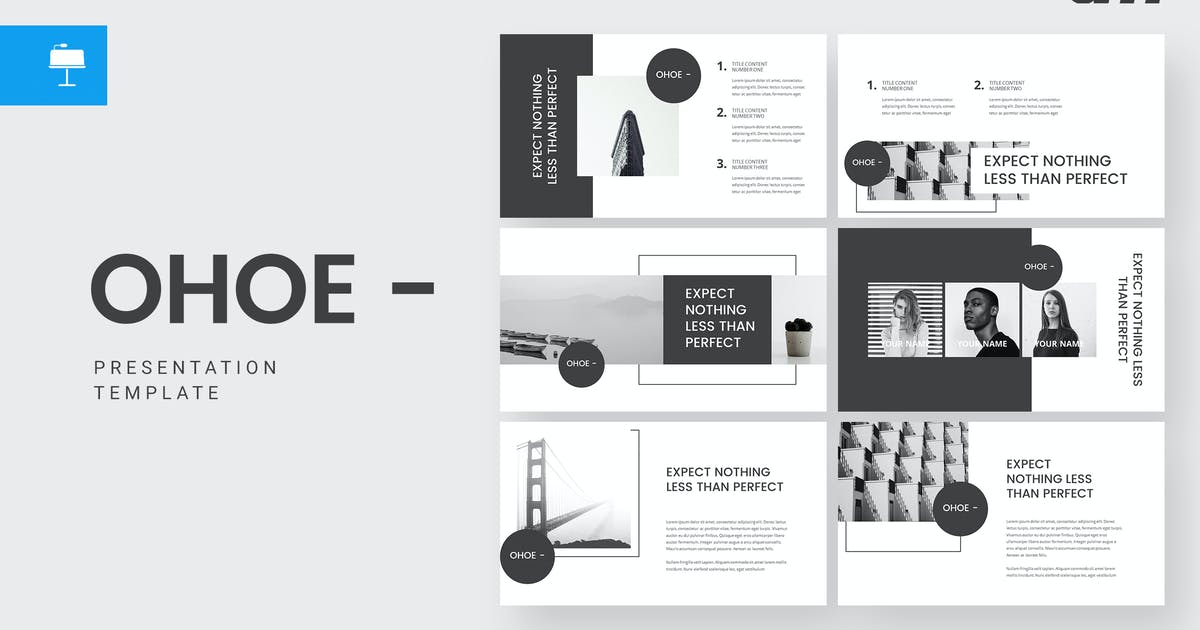 Download Ohoe -  Keynote Template by amsupply