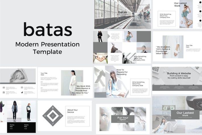 Thumbnail for Batas Keynote Template