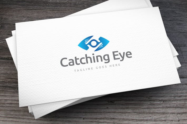 Thumbnail for Catching Eye Logo Template