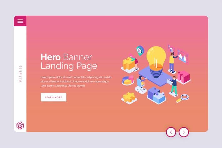 Thumbnail for Kuber - Hero Banner Template