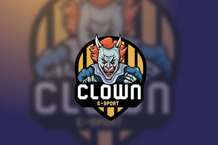 Thumbnail for Clown Esport logo