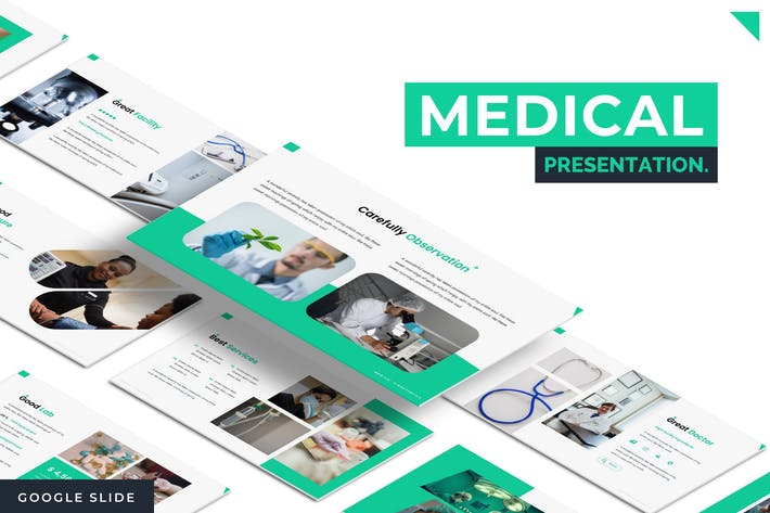 Thumbnail for Medical - Google Slide Template