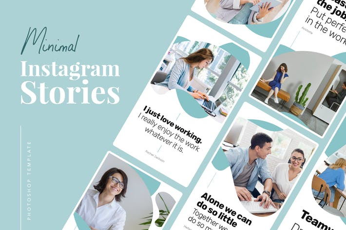 Thumbnail for Minimale Instagram-Stories