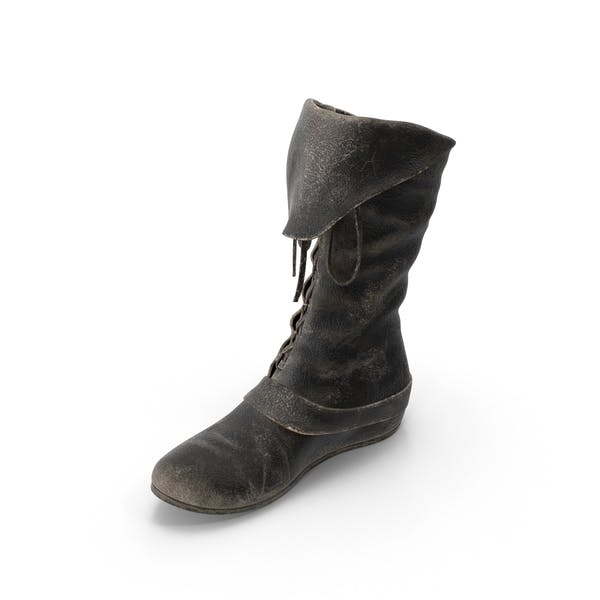 Leather Boot Right
