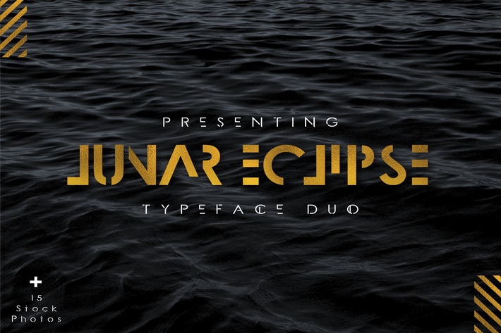 Thumbnail for Lunar Eclipse Font Duo