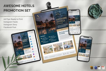 Awesome Hotels - Promotion Set