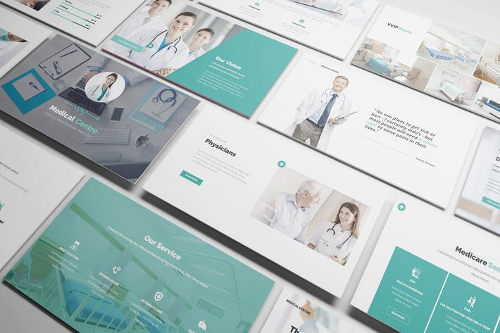 Thumbnail for Medical Centre Powerpoint Presentation Template