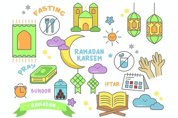 Thumbnail for Ramadan Doodle Character
