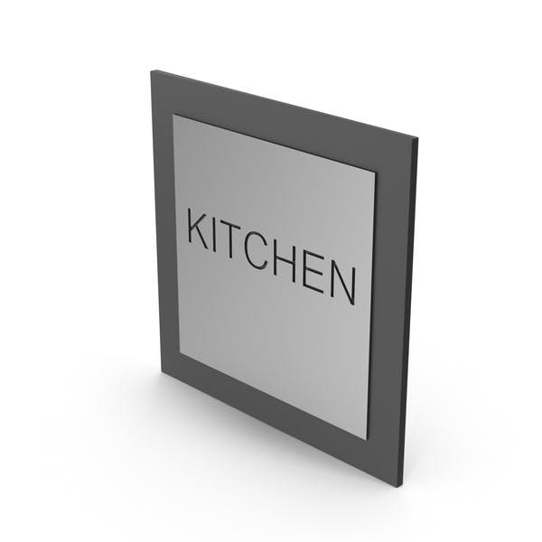 Piktogramm Kitchen Sign