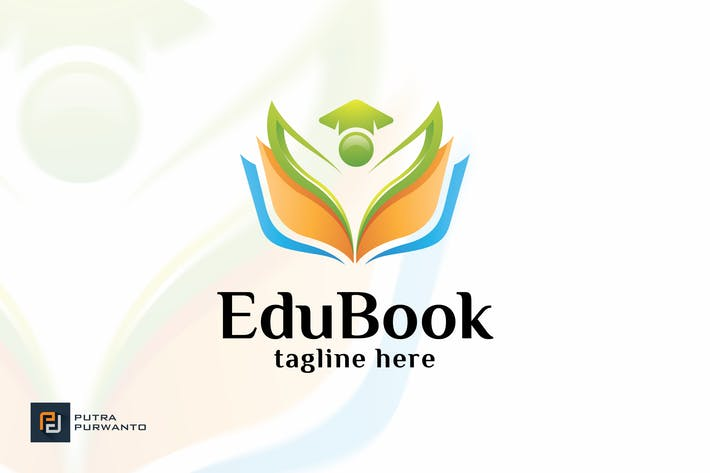Cover Image For Edu Book - Logo Template