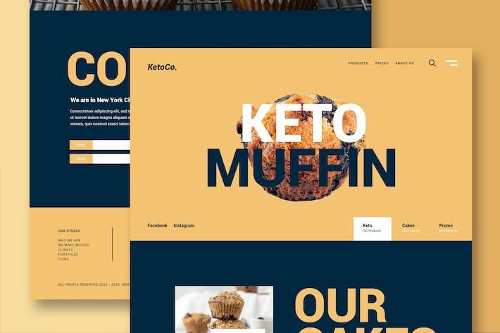 Thumbnail for Comida y Restaurante - Sitio Web