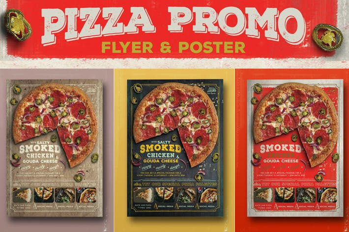 Thumbnail for Pizza Promo Flyer
