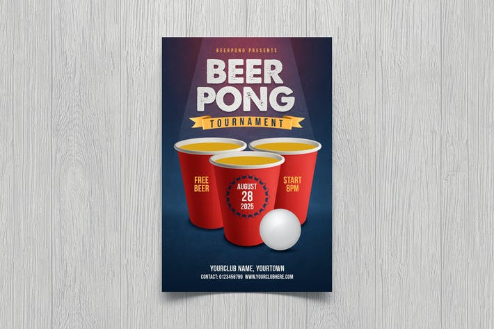 Thumbnail for Beer Pong Flyer