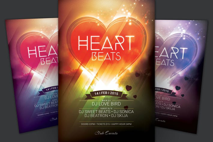 Thumbnail for Heart Beats Flyer