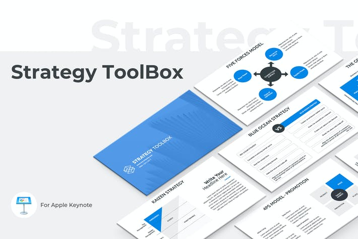 Thumbnail for Strategy ToolBox Keynote Template