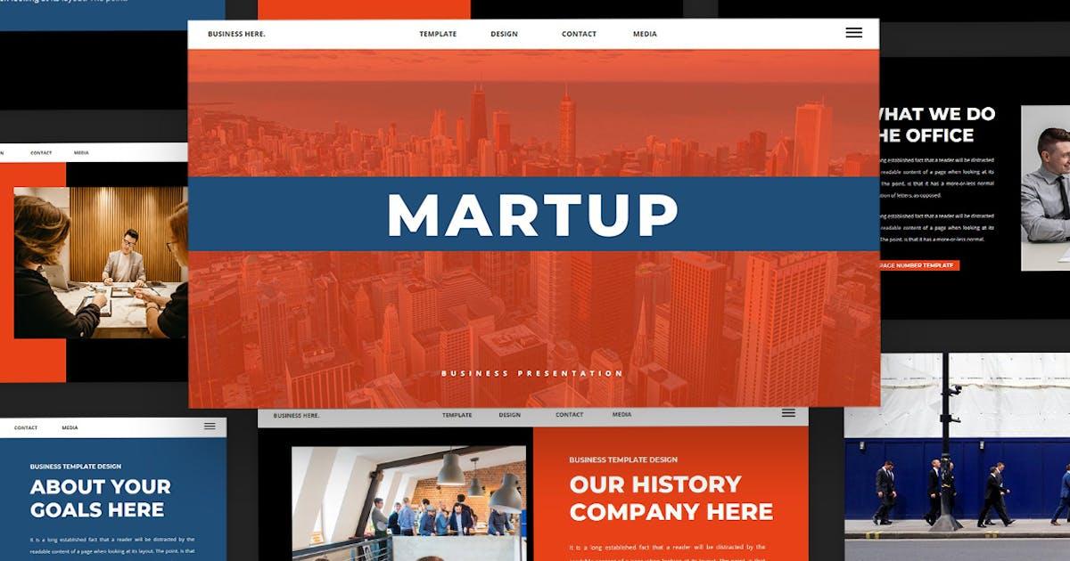 Download Martup - Keynote Presentation Templates by Creavora