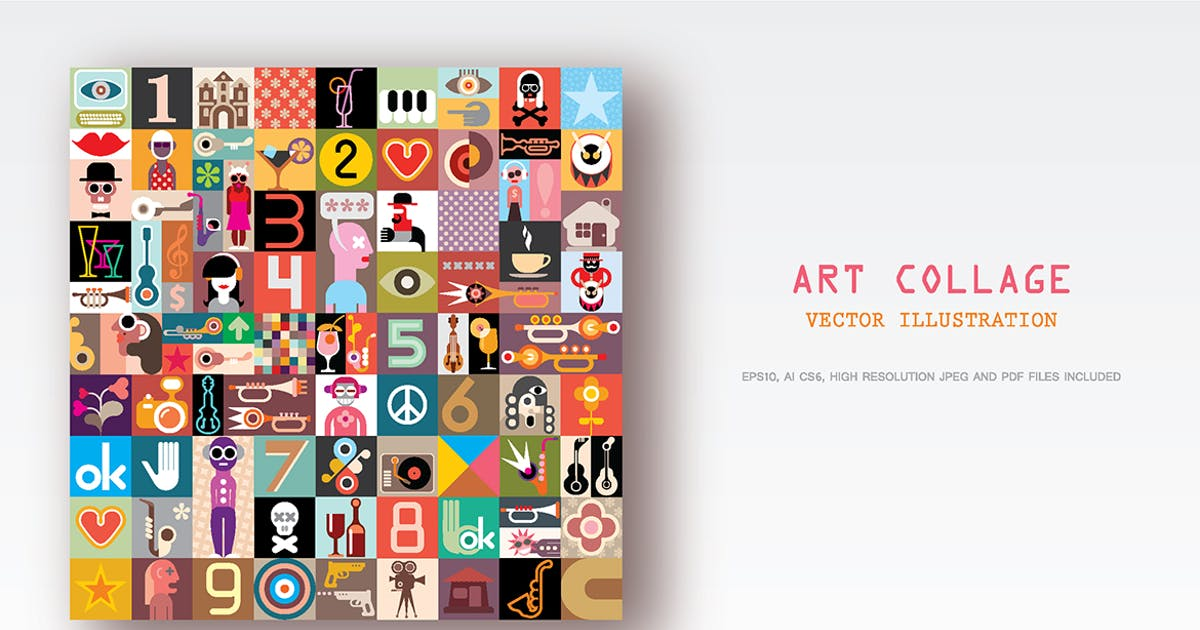 Download Art Collage by danjazzia
