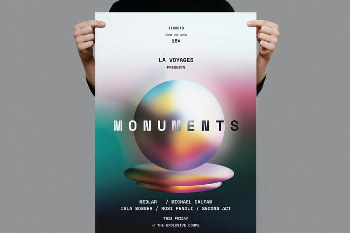 Thumbnail for Monument Poster / Flyer