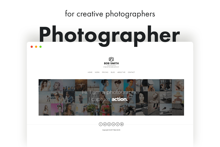 Thumbnail for Photographer - A Template For Photographers