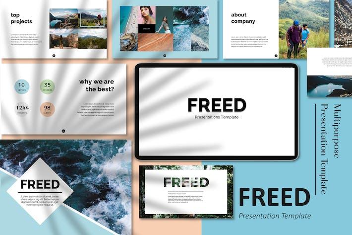 Thumbnail for Freed Minimal Google Slides