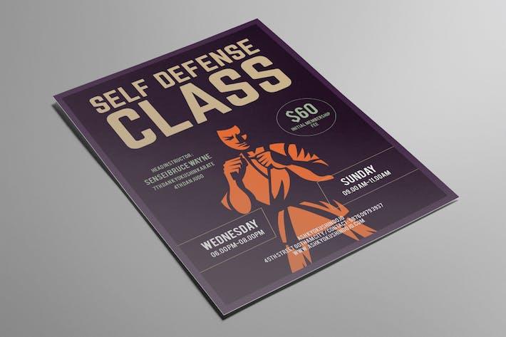 Thumbnail for Self Defense Class Flyer